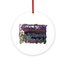 Mesa Verde Ornament (Round)