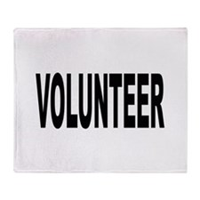 Volunteer Throw Blanket