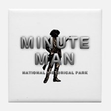ABH Minute Man Tile Coaster