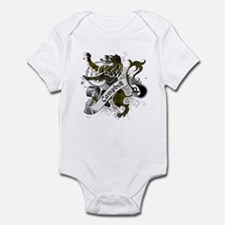 Campbell Tartan Lion Infant Bodysuit