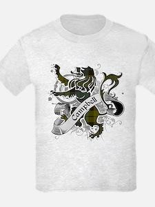 Campbell Tartan Lion T-Shirt