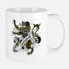Campbell Tartan Lion Mug