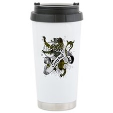 Campbell Tartan Lion Travel Coffee Mug