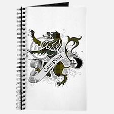 Campbell Tartan Lion Journal
