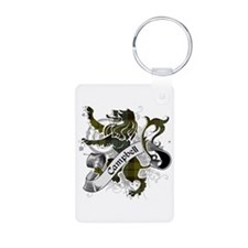 Campbell Tartan Lion Keychains