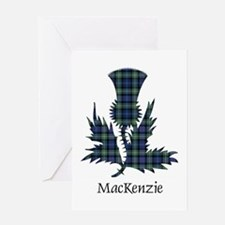 Thistle-MacKenzie Greeting Card