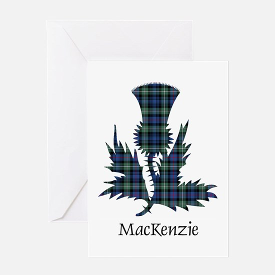 Thistle-MacKenzie Greeting Card