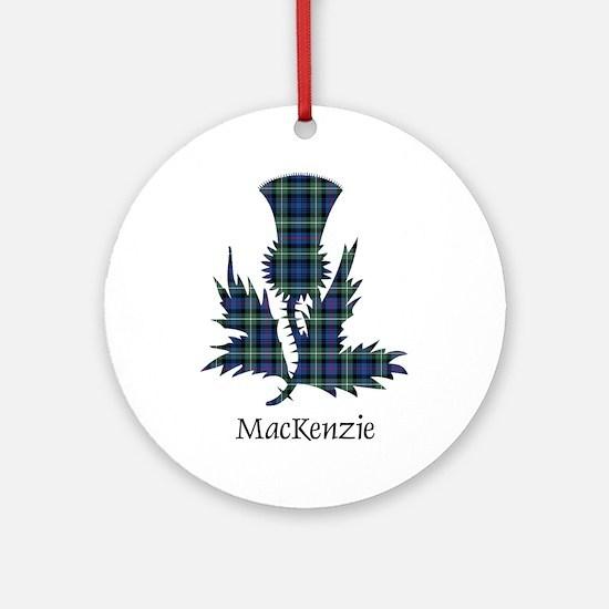 Thistle-MacKenzie Round Ornament