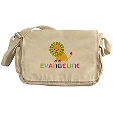 Evangeline the Lion Messenger Bag