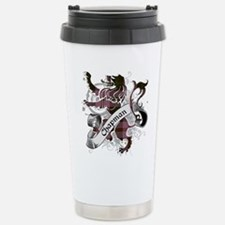 Chapman Tartan Lion Stainless Steel Travel Mug