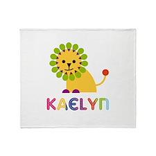 Kaelyn the Lion Throw Blanket