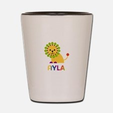 Ayla the Lion Shot Glass