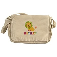 Ainsley the Lion Messenger Bag
