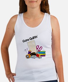 Gone Quiltin' Women's Tank Top