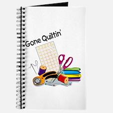 Gone Quiltin' Journal