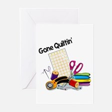 Gone Quiltin' Greeting Cards (Pk of 10)