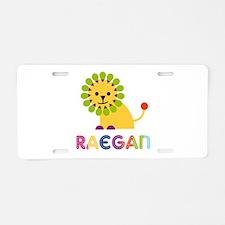 Raegan the Lion Aluminum License Plate
