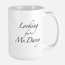 Looking for Mr. Darcy Large Mug
