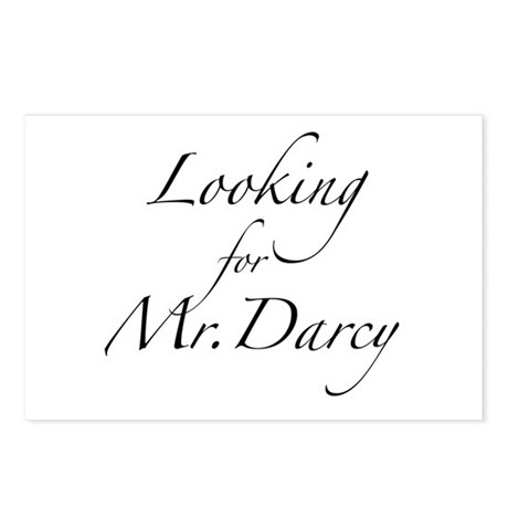 Looking for Mr. Darcy Postcards (Package of 8)