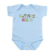 Quilting Makes Me SMILE! Infant Bodysuit