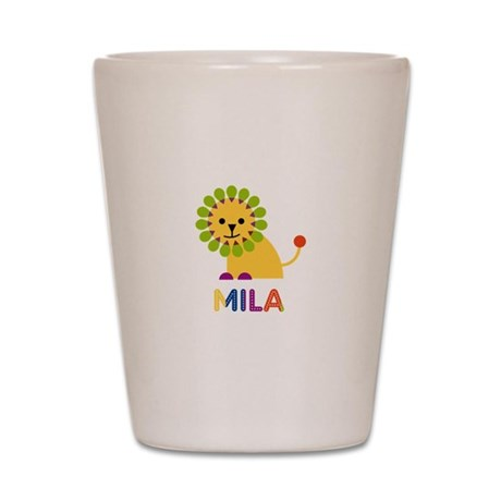Mila the Lion Shot Glass
