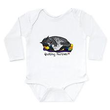 Quilting Partner Long Sleeve Infant Bodysuit