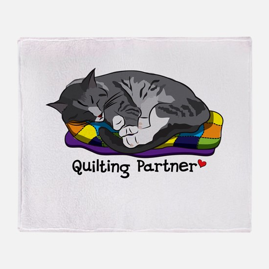 Quilting Partner Throw Blanket