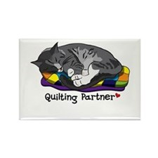 Quilting Partner Rectangle Magnet