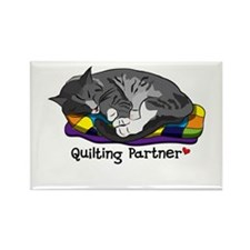 Quilting Partner Rectangle Magnet (100 pack)