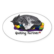 Quilting Partner Decal
