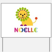 Noelle the Lion Yard Sign