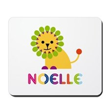 Noelle the Lion Mousepad