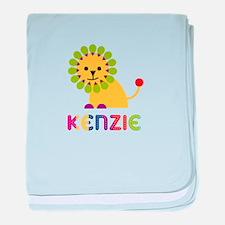 Kenzie the Lion baby blanket