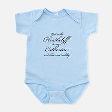 Heathcliff and Catherine Infant Bodysuit