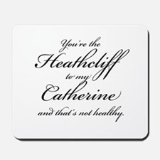 Heathcliff and Catherine Mousepad