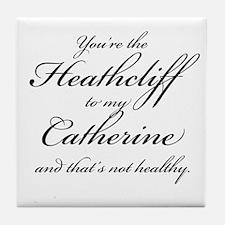 Heathcliff and Catherine Tile Coaster