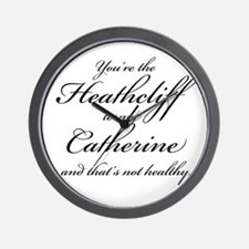 Heathcliff and Catherine Wall Clock