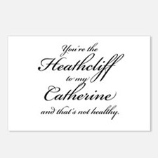 Heathcliff and Catherine Postcards (Package of 8)