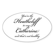 Heathcliff and Catherine Decal