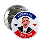 Oakland for Obama 2012 campaign button