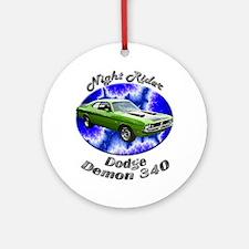 Dodge Demon 340 Ornament (Round)