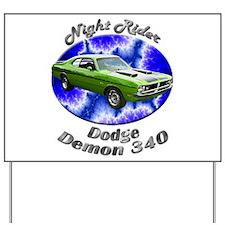 Dodge Demon 340 Yard Sign
