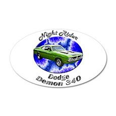 Dodge Demon 340 Medium Oval Wall Peel