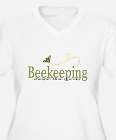 Beekeeping Therapy womens T-Shirt