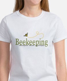 Beekeeping Therapy womens Women's T-Shirt