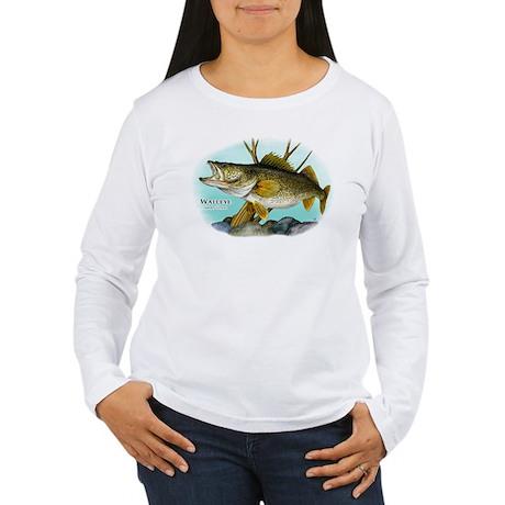 Walleye Women's Long Sleeve T-Shirt