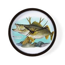 Walleye Wall Clock