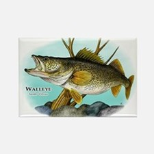 Walleye Rectangle Magnet