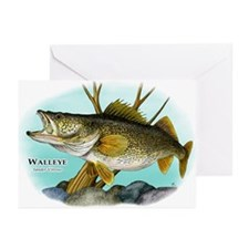 Walleye Greeting Cards (Pk of 10)