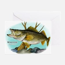 Walleye Greeting Cards (Pk of 10)